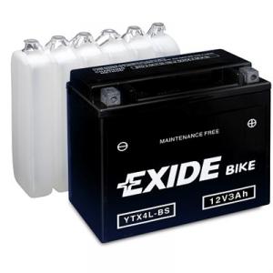 Batteri Exide 12V ETX4L-BS