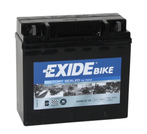 Batteri Exide 12V SLA 12-18