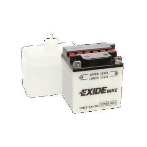 Batteri Exide 12N5, 5A-3B