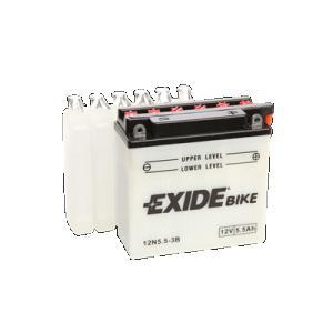 Batteri Exide 12V 12N5,5-3B