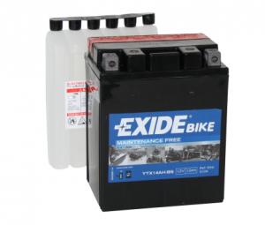 Batteri Exide 12V YTX14AH-BS