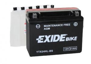 Batteri Exide 12V YTX24HL-BS