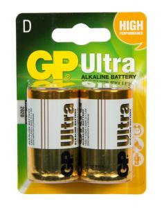 Batteri GP 1.5V LR20/D 2 pack