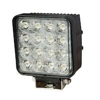Arbetslampa med LED kvadrat
