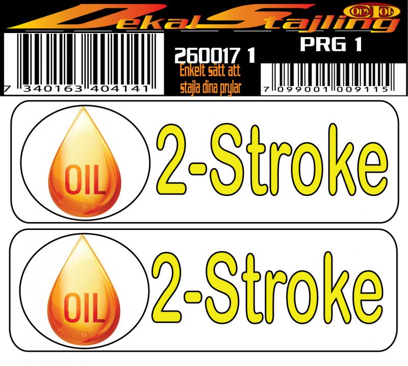 Dekaler 2-Stroke oil 1 par