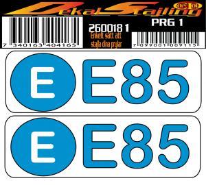 Dekaler E85 1 par