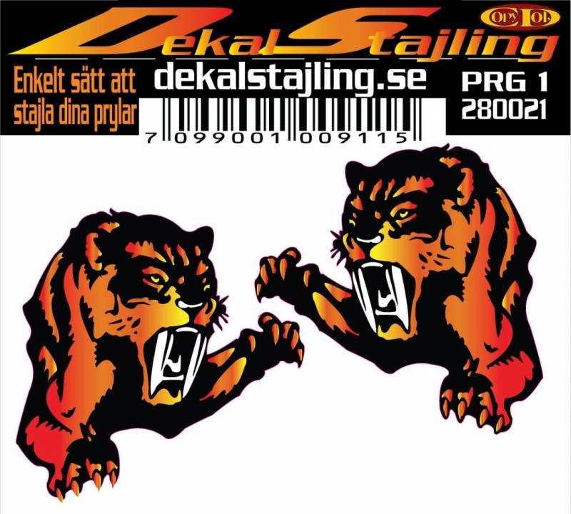 Dekaler Tiger 1 par