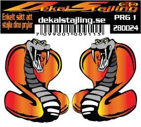 Dekaler Snake 45x60mm