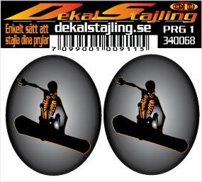 Dekaler snowboard 1 par