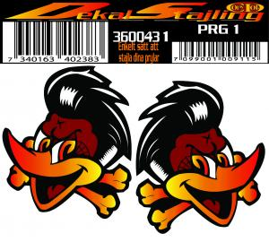 Dekaler Piratepecker 1 par