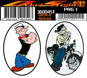 Dekaler Biker Karlalfred