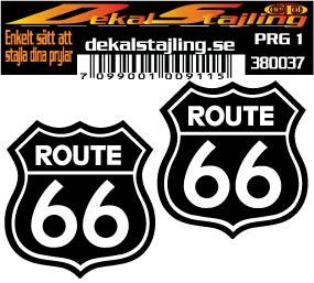 Dekaler Route 66 1 par
