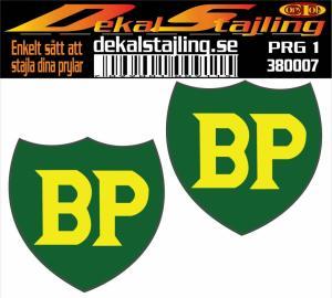 Dekaler BP loggo 1 par