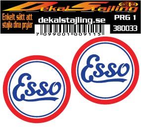 Dekaler Esso 50mm