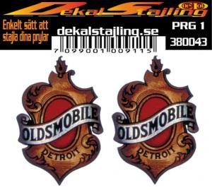 Dekaler Oldsmobile 1 par