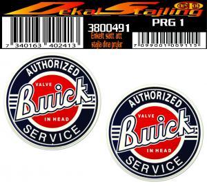 Dekaler Buick Service 1 par