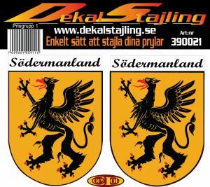 Dekaler Södermanland 1 par