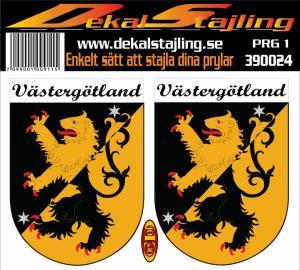 Dekaler Västergötland 1 par
