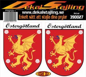 Dekaler Östergötland 1 par