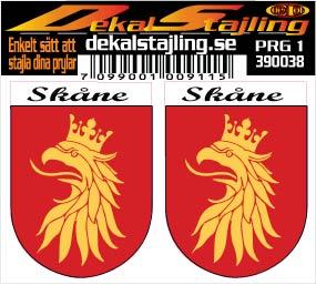 Dekaler Skåne 1 par