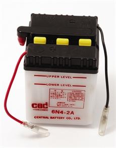 Batteri 6V 6N4-2A 4Ah Suzuki K50