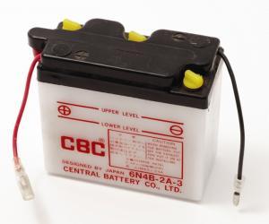 Batteri 6V 6N4B-2A-3 Yamaha DT