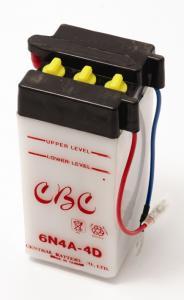 Batteri 6V 6N4A-4D Yamaha FS1