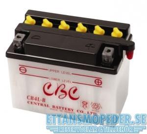 Batteri 12 V YB4L-B 4Ah Suzuki TS50 mfl