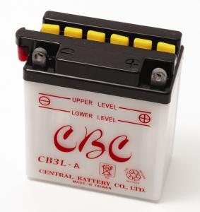 Batteri YB3L-B Yamaha DTR mfl