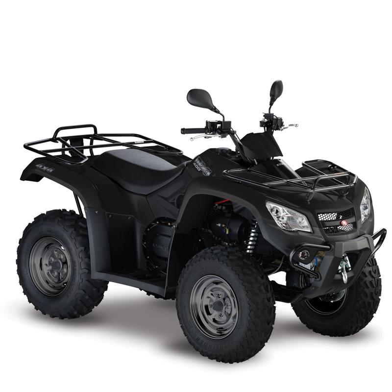 Kymco MXU 400 IRS svart