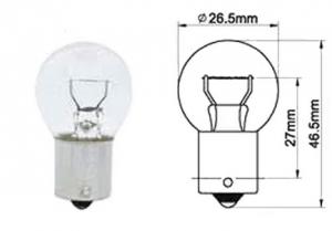 Glödlampa BA15S 6V15W