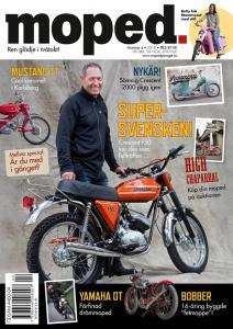 Tidning Klassiker Moped nr.4 2018