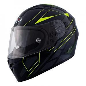 Integralhjälm Shiro SH600 Elite svart/gul