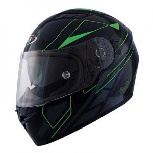 Integralhjälm Shiro SH600 Elite svart/grön