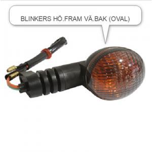Blinkers Reiju MRX mfl. Höger fram/Vänster bak mörkt