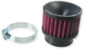 Luftfilter Uni. rakt Svart/Lila 35mm