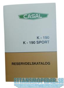 Reservdelskatalog Casal