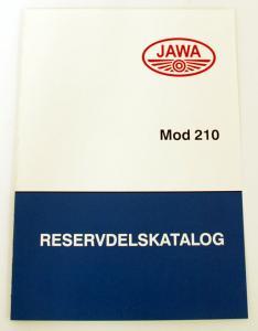 Reservdelskatalog Jawa 210