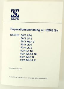 Reparationshandbok Sachs 3-4väx