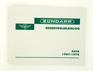 Reservdelskatalog Zundapp KS50 67-76