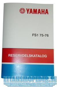 Reservdelskatalog Yamaha FS1 75-76