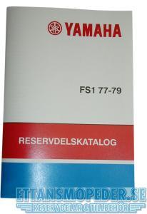 Reservdelskatalog Yamaha FS1 77-79