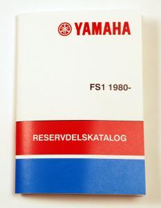 Reservdelskatalog Yamaha FS1 80-