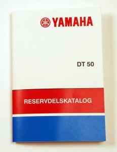 Reservdelskatalog Yamaha DT
