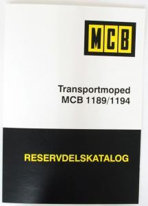 Reservdelskatalog Flakmoped 1189