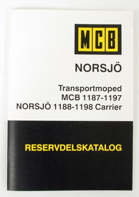 Reservdelskatalog MCB/Norsjö