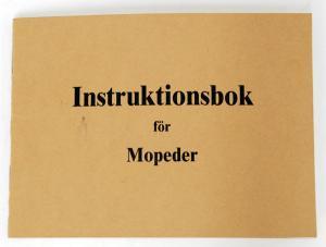 Instruktionsbok MCB (Sachs, Ilo, Husqvarna)