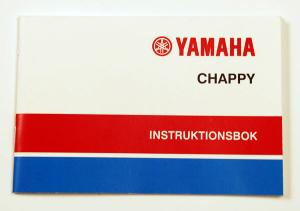 Instruktionsbok Yamaha Chappy