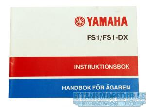 Instruktionsbok Yamaha FS1