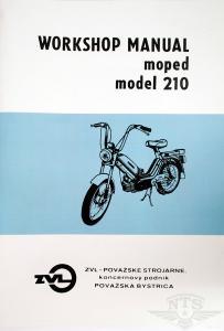 Verkstadshandbok Jawa 210